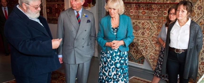 Принц Чарлз ще подари килим от Костандово за сватбата на Хари и Мегън Маркъл