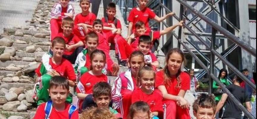 "София: Златен, сребърен, два бронзови медала и златна щафета за СК""Шампион"""
