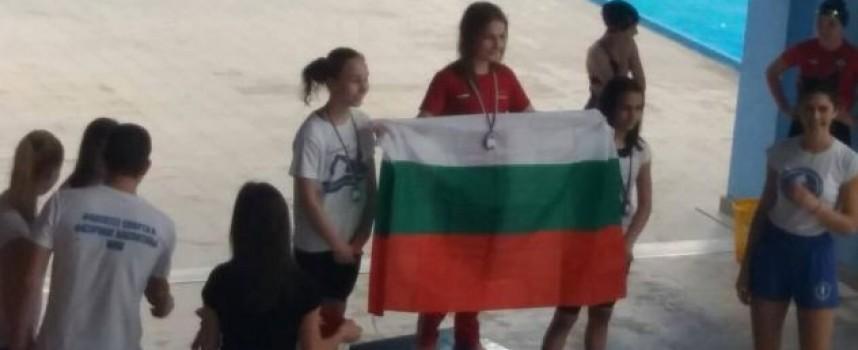 """Четири медала за златната рибка на Спортното училище от турнира """"Св.Никола"""" в Ниш"""