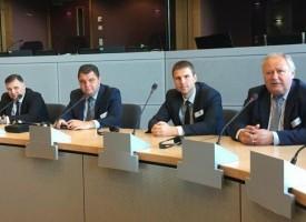 Областният управител Стефан Мирев бе на работно посещение в Брюксел