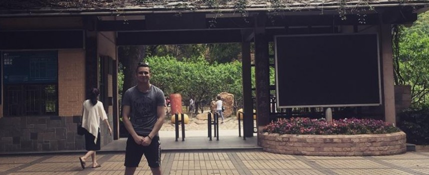 Студентът Александър Танев от Белово, бе в Китай, за да участва в международен проект