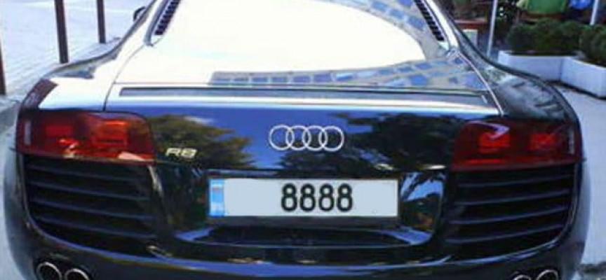 Увеличават се таксите за регистрационни табели  с номера по избор