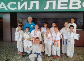 """28 медала за СК """"Тонус Спорт"""" от турнира за """"Купа Пазарджик"""""""