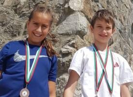 Адриан Симеонов и Рая Пашова с бронз от Държавното първенство в Севлиево