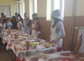 Калугерово: Седмокласничката Искра Манолова от Боримечково стана най-добър готвач