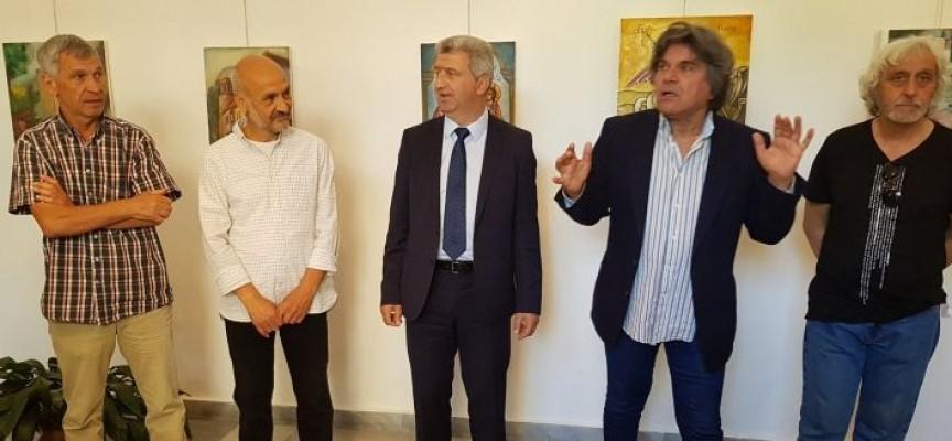 Николай Зайчев откри изложба с картини от втория национален пленер в Пещера