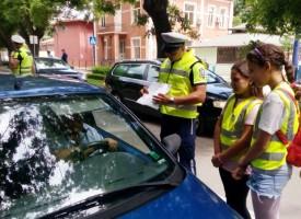 """Детското полицейско управление в Пазарджик в съвместна акция с """"Пътна полиция"""""""