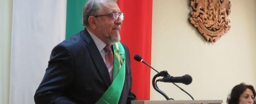 Двама академици са най-новите почетни граждани на Пазарджик