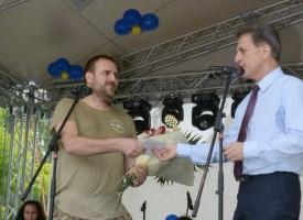 Щъркелът донесе днес: Георги Димитров, дариха го с бебешка количка и 500 лв.
