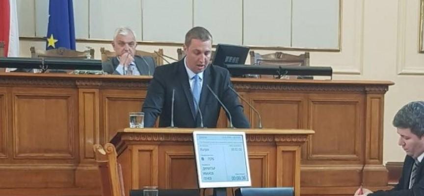 Димитър Гечев с въпрос за директните плащания към министър Порожанов