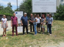"""Направиха първа копка на третия обект от мащабния ремонт на кв. """"Марица – Болницата"""""""