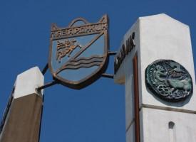 Забелязали ли сте, какво има на входните арки на града?