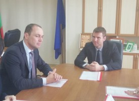 Стефан Мирев се срещна с ръководството на EВН България
