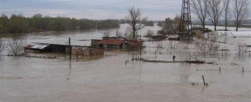 От Министерството на околната среда и водите предупреждават за възможни наводнения във водосбора на Марица