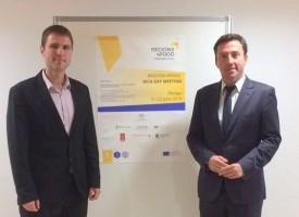 """В Малага: Стефан Мирев се срещна с Рикардо Домингез в рамките на  проект """"REGIONS 4FOOD""""."""