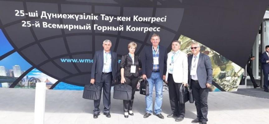 """Шефовете на """"Асарел – Медет"""" се върнаха от Световен минен конгрес в Астана"""