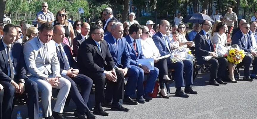 Зам. министър Стефан Балабанов взе участие във възпоменателната церемония в Сарафово