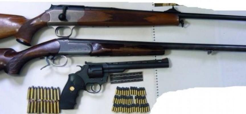 В спецакция: Полицията прибра арсенал от Белово, нелегални стоки от Панагюрище и Пазарджик