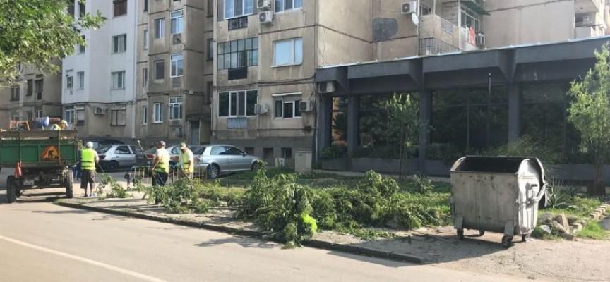 Земетресение разлюля Пазарджик и околностите