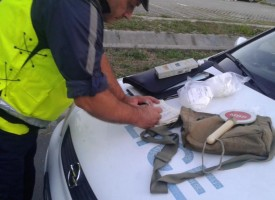 Почерпен украинец нощува в ареста