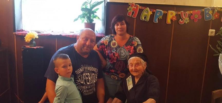 Вчера: Петкана Маринкова от Величково навърши 100 години