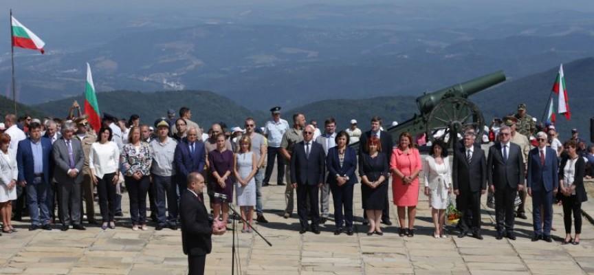 Президентът: Изправени сме пред заплахата от историческа амнезия и загуба на идентичност