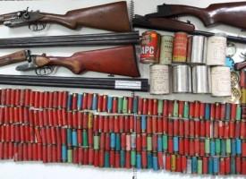 Нова порция оръжие и боеприпаси иззе полицията в Белово