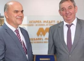 "Министърът на труда и социалната политика Бисер Петков посети ""Асарел-Медет""АД"