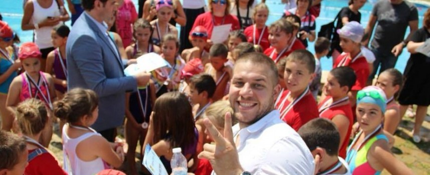 Над 60 деца се вкючиха в плувен празник в Стрелча