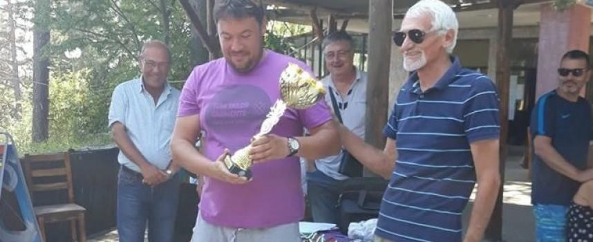 Димитър Димитров с три победи и купата от язовир Батак