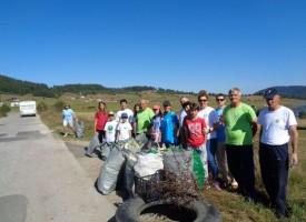 Доброволците от област Пазарджик събраха вчера 177 тона отпадъци от 95 замърсени участъка
