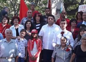 """Лесичово: Отбелязаха 95 г. от Септемврийското въстание в м.""""Дъбравите"""""""