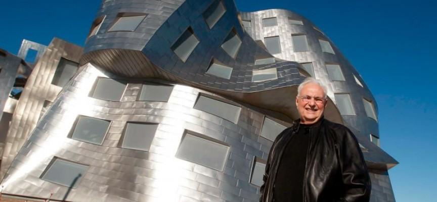 Великите архитекти: Франк Гери буквално си играе с пространствата и материята