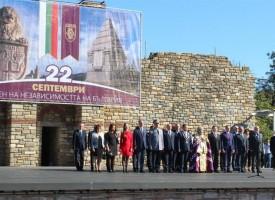 Зам.-министър Балабанов присъства на военен ритуал на Царевец