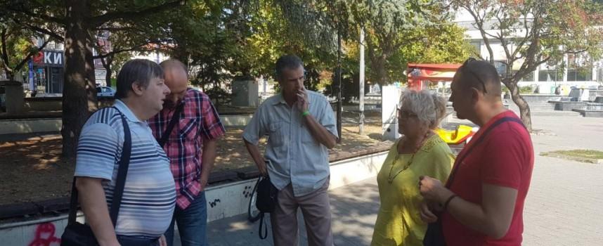 Вял протест срещу вдигането на такса – смет в Пазарджик