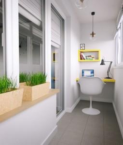 27остъклен балкон-кабинет
