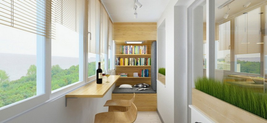 Балконът: Няколко начина за употреба