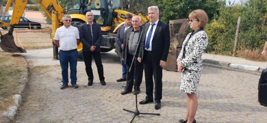 Първа копка за основен ремонт на моста за Брацигово в Капитан Димитриево бе направена днес