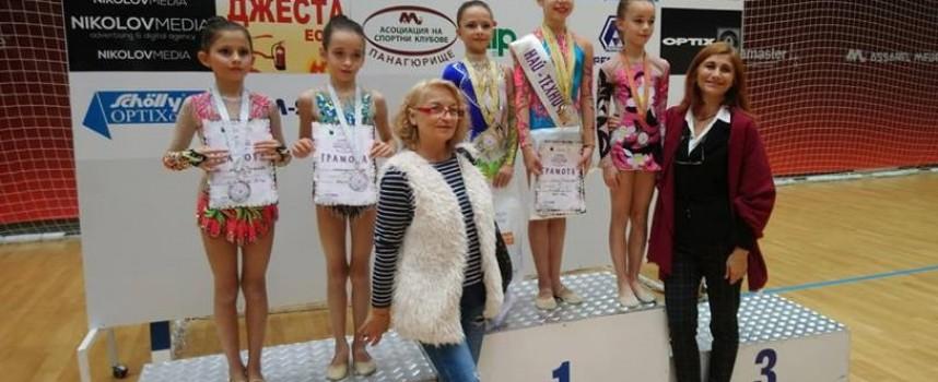 """Три златни медала за Дара Стоянова от """"Панагюрско съкровище"""""""