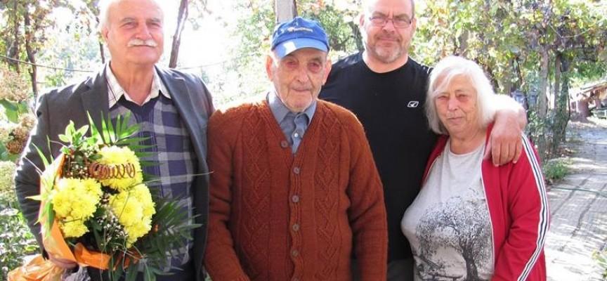 Участник във Втората световна война навърши 95