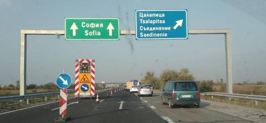 През нощта: ТИР се обърна на магистралата, има обходен маршрут