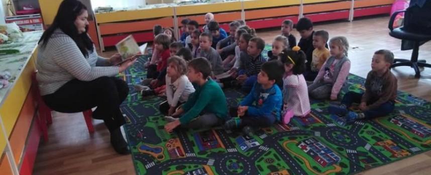 """Читателска връзка: Децата от ОДЗ """"Ю. Гагарин"""" се включиха в Национална седмица на четенето"""