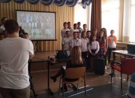 Спортното училище отбеляза Деня на народните будители с концерт