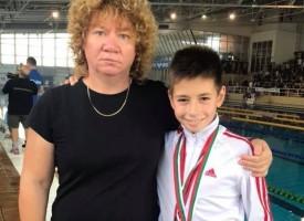 """5 медала за СК""""Шампион"""" от силния международен турнир по плуване""""Замората"""""""
