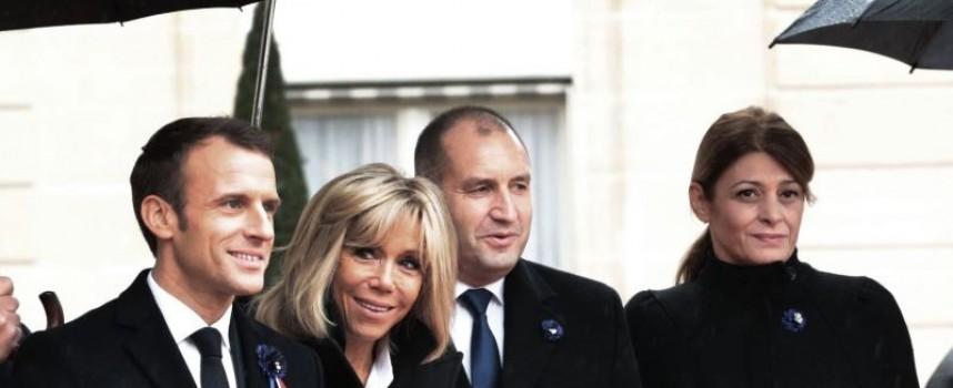 """Париж: Трима българи свириха """"Болеро"""" на Равел под Триумфалната арка пред световния политически елит"""