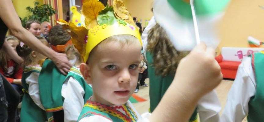 """Малчуганите от детска градина """"Доброта"""" отпразнуваха първата си годишнина"""