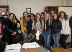 """Аксаковци посетиха Административния съд в """"Деня на отворените врати"""""""