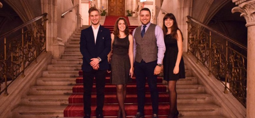 """Съветът за младежка политика с престижното второ място на наградите """"Иновации в политиката"""" във Виена"""