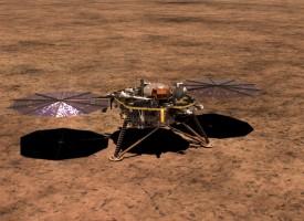 След седем месеца път: InSight успешно кацна на Червената планета