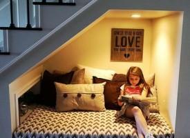 11 свежи идеи за усвояването на подстълбищното пространство